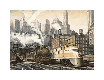 The Station, Chicago-Matthew Daniels-Giclee Print