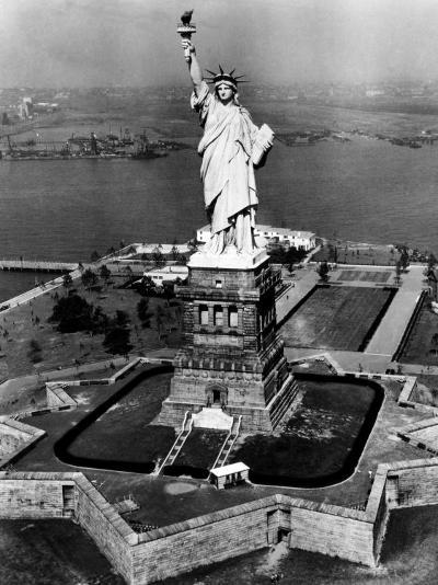 The Statue of Liberty, New York City, 1955--Photo