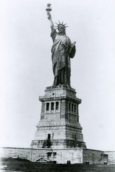 The Statue of Liberty-G.P. & Son Hall-Photographic Print