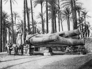 The Statue of Rameses II, Cairo, Egypt, C1920S