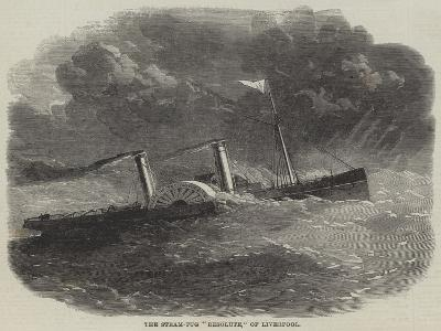The Steam-Tug Resolute, of Liverpool--Giclee Print