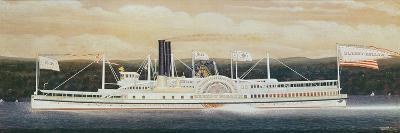 The Steamboat 'Sleepy Hollow'-James Bard-Giclee Print
