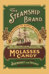 The Steamship Brand Molasses Candy