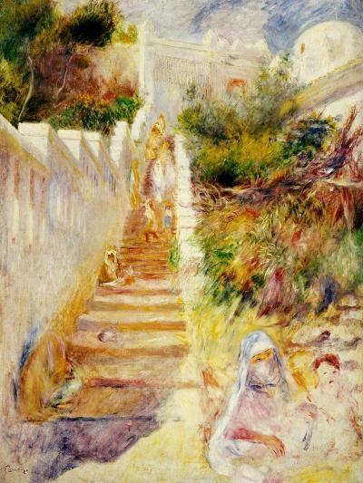 The Steps, Algiers, C.1882-Pierre-Auguste Renoir-Giclee Print