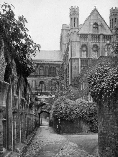 The Steps, Peterborough Cathedral, Cambridgeshire, 1924-1926- Francis & Co Frith-Giclee Print