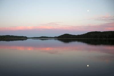 The Still Water Mimics the Sky's Painted Hues-Robbie George-Photographic Print