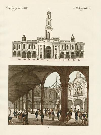 The Stock of London--Giclee Print