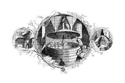 The Stoke-Hole, the Mash Tun, and the Copper, 1886--Giclee Print