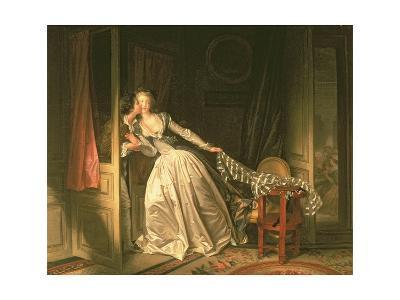 The Stolen Kiss, C.1788-Jean-Philippe Rameau-Giclee Print