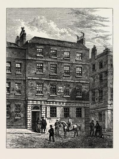 The Stone House Knightrider Street. from a Print in the Gold-Headed Cane. London--Giclee Print