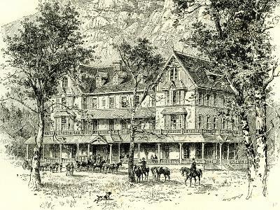 The Stoneman House Yosemite Valley 1891, USA--Giclee Print