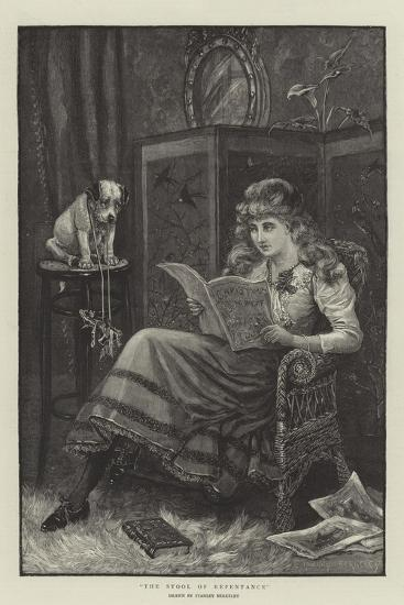 The Stool of Repentance-Stanley Berkeley-Giclee Print