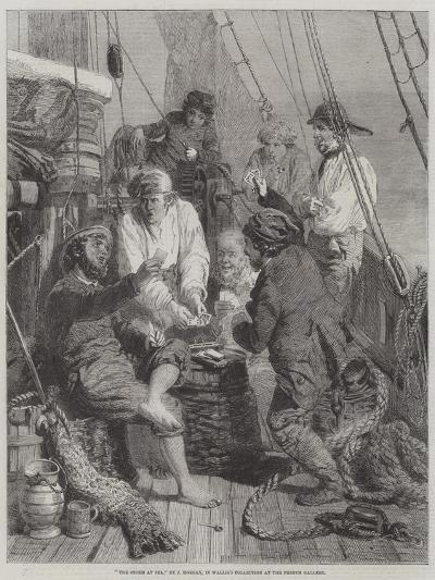 The Storm at Sea-John Morgan-Giclee Print