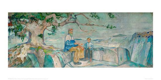 The Story, 1911-Edvard Munch-Giclee Print