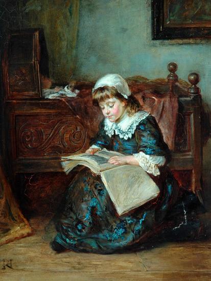 The Story Book, 1864-93-Robert Alexander Hillingford-Giclee Print