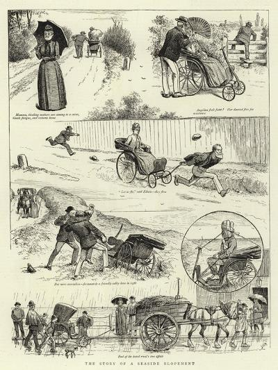 The Story of a Seaside Elopement--Giclee Print
