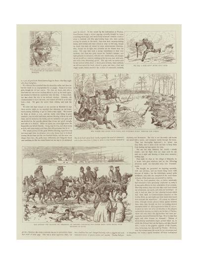 The Story of a Shooting Excursion in Turkey-Alfred Chantrey Corbould-Giclee Print