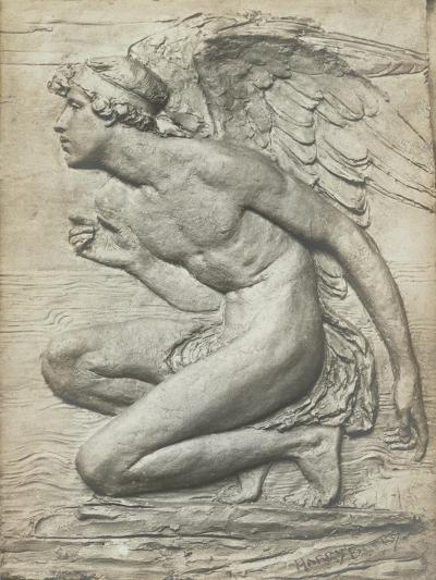 The Story of Psyche: Cupid (Silvered Bronze) (See 198359 and 201279)-Harry Bates-Giclee Print