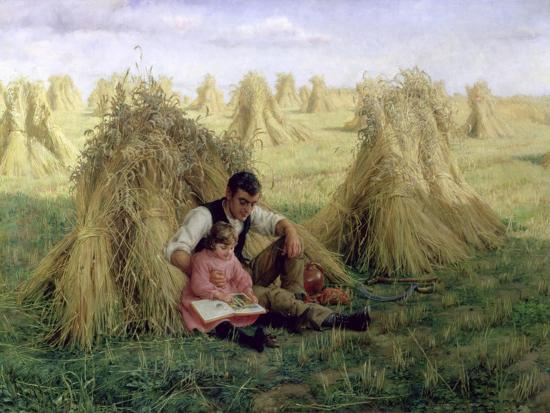 The Story of Ruth and Boaz, 1894-Frank Topham-Giclee Print