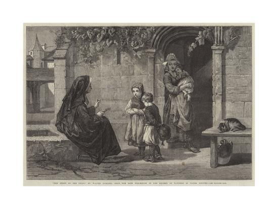 The Story of the Cross-Walter Goodall-Giclee Print