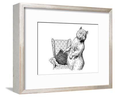 The Story of The Three Bears-Leslie Brooke-Framed Art Print
