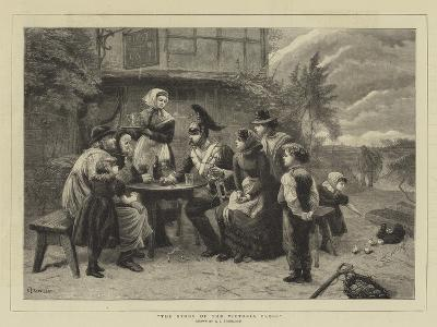 The Story of the Victoria Cross-Charles Joseph Staniland-Giclee Print