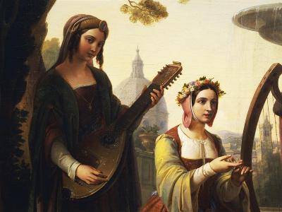 The Storytellers of the Decameron, 1851-Francesco Primaticcio-Giclee Print
