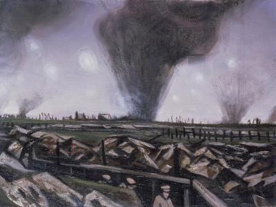 The Strafing, C.1914-Christopher Richard Wynne Nevinson-Giclee Print