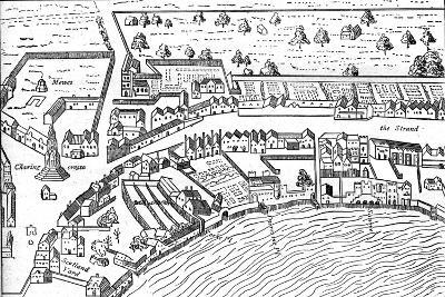 The Strand, 1560-Ralph Aggas-Giclee Print
