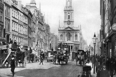 The Strand as it Was in the Days of Hansom Cabs and Tall Hats, London--Giclee Print