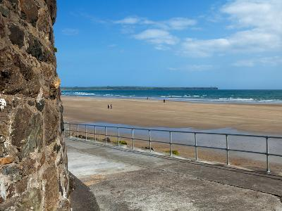 The Strand in Tramore, County Waterford, Ireland--Photographic Print