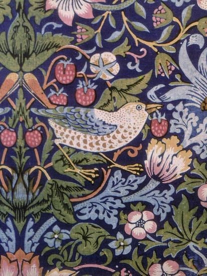 The Strawberry Thief 1883 Giclee Print By William Morris
