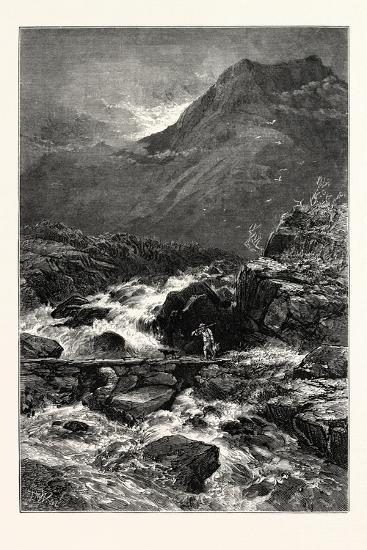 The Stream from Llyn Idwal, UK--Giclee Print