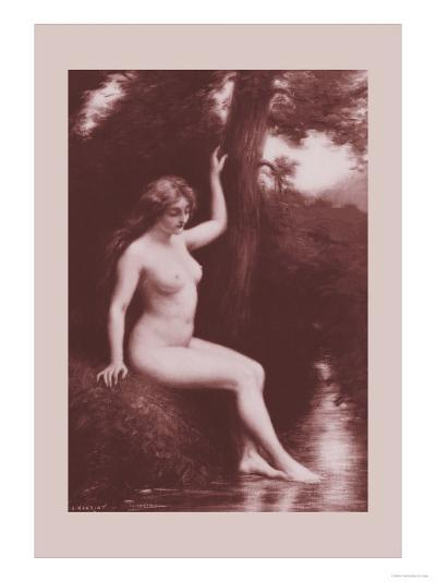 The Stream-A. Hanriot-Art Print