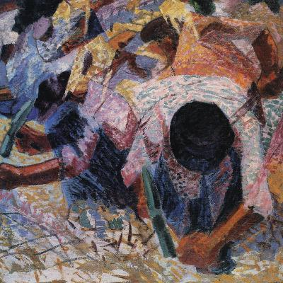 The Street Pavers-Umberto Boccioni-Giclee Print