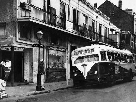 The Streetcar Named Desire is Now a Bus--Photographic Print