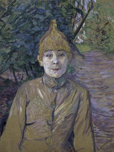 The Streetwalker-Henri de Toulouse-Lautrec-Giclee Print