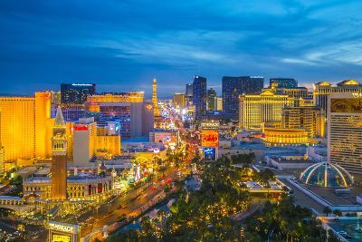 The Strip, Las Vegas, Nevada, United States of America, North America-Alan Copson-Photographic Print
