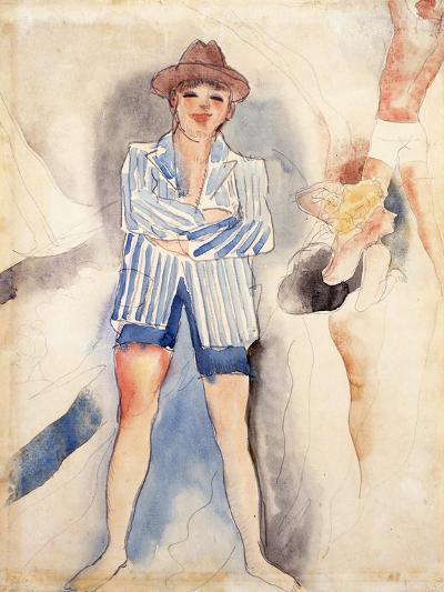 The Striped Blazer-Charles Demuth-Giclee Print