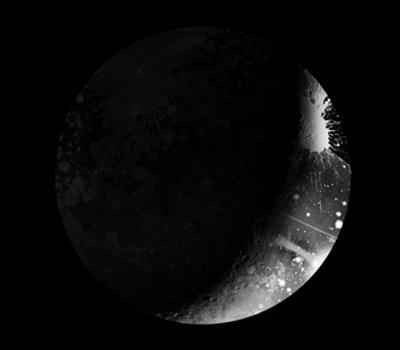 Abstract Moon Phase 5 by THE Studio