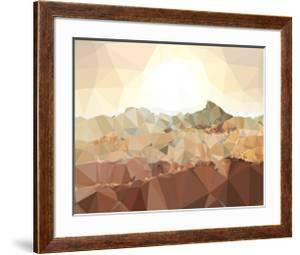 Faceted Desert 1 by THE Studio