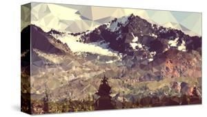 Faceted Mountain Valley by THE Studio