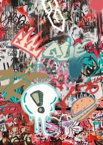 Graffiti Three by THE Studio
