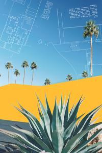 Palm Springs Color Block 3 by THE Studio