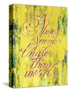 Shoes Speak Louder than Words by THE Studio