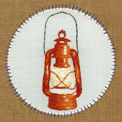 Vintage Camping Embroidery B