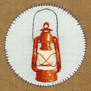 Vintage Camping Embroidery B by THE Studio
