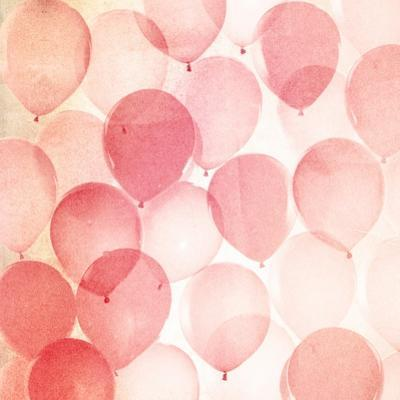 Vintage Red Balloons B by THE Studio