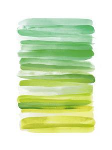 Watercolor Stripes D by THE Studio
