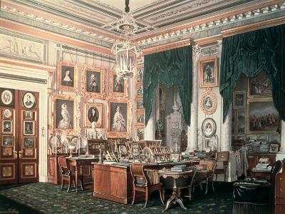 The Study of Alexander III-Eduard Hau-Giclee Print